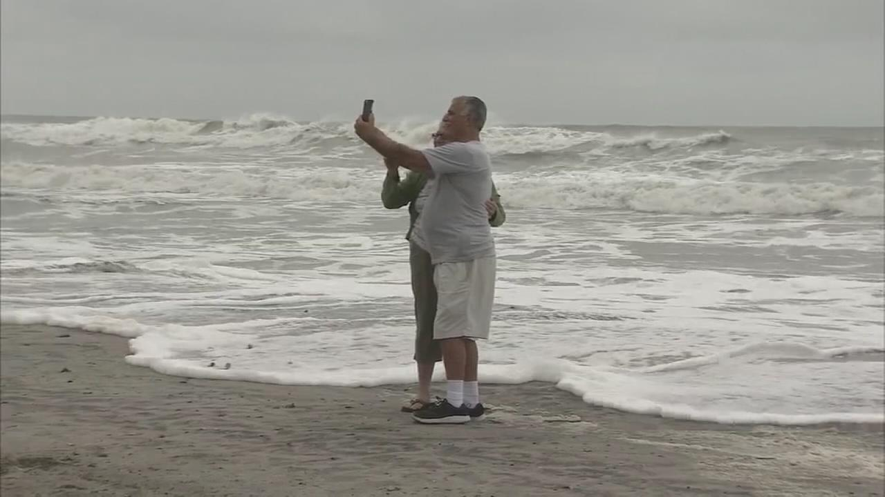 Tracking Hurricane Jose in Atlantic City
