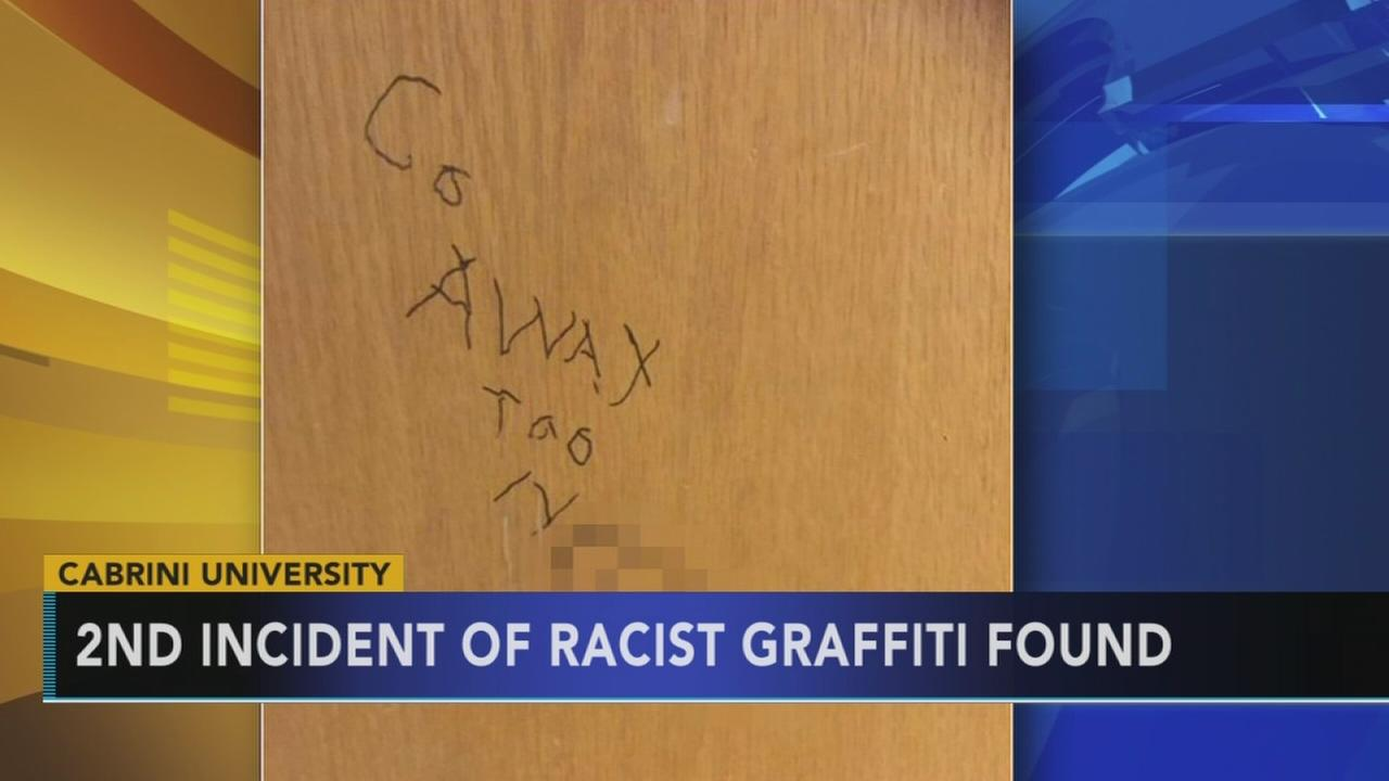 Racist graffiti found on another Cabrini dorm room door
