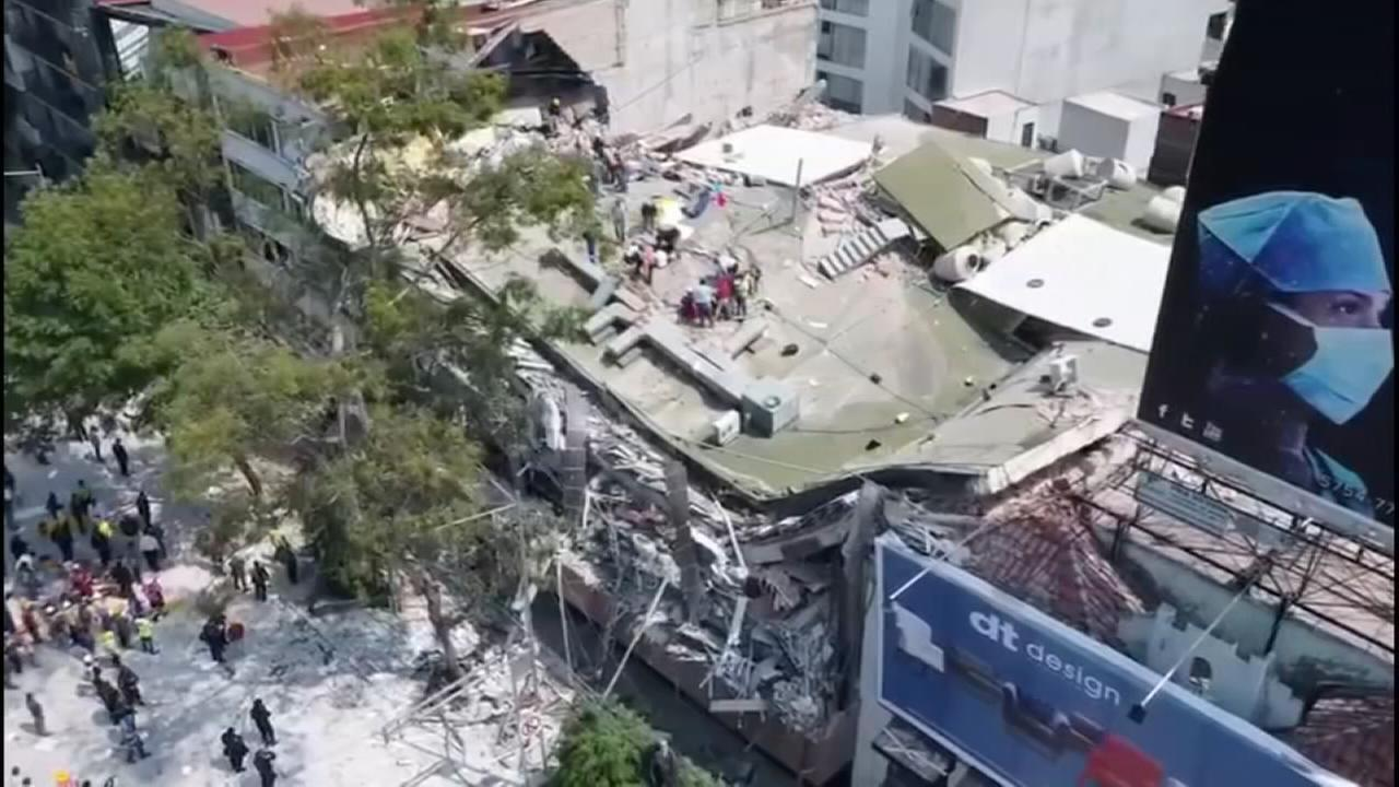 Deadly quake in Mexico
