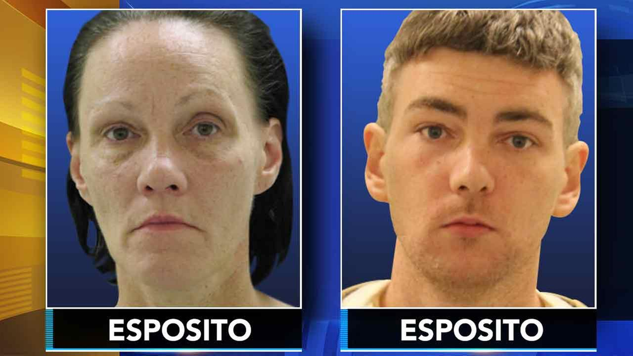 Police: Mother and son on loose after theft