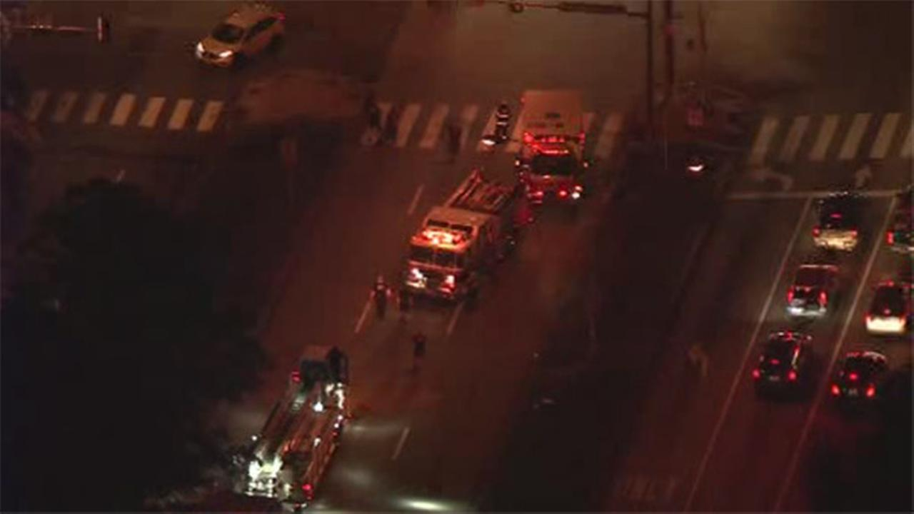 Philadelphia Police are investigating a hit and run incident in Northeast Philadelphia.