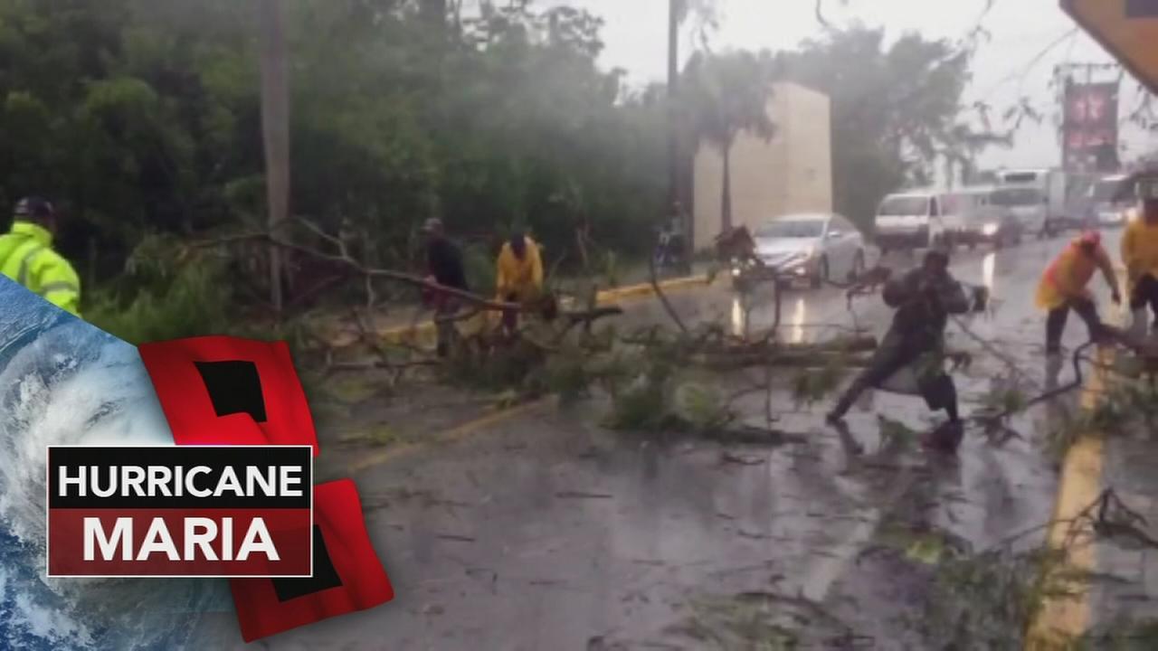 Maria devastates Puerto Rico