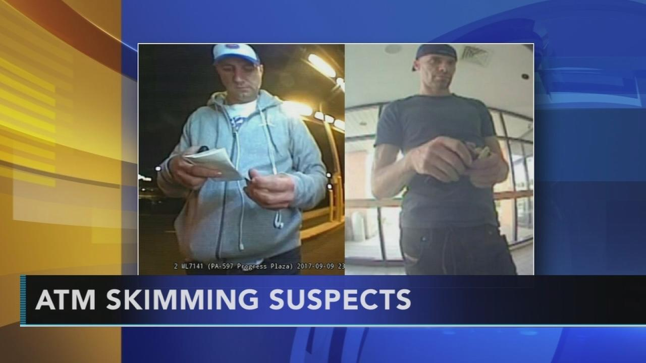 ATM skimming suspects