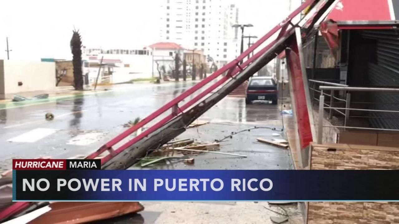 Puerto Rico struggles after Maria