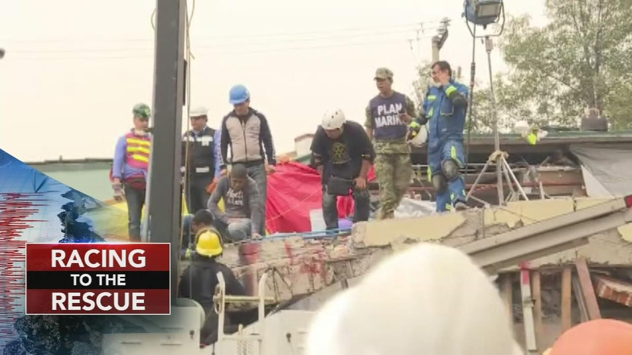 Rescue efforts continue after Mexico quake