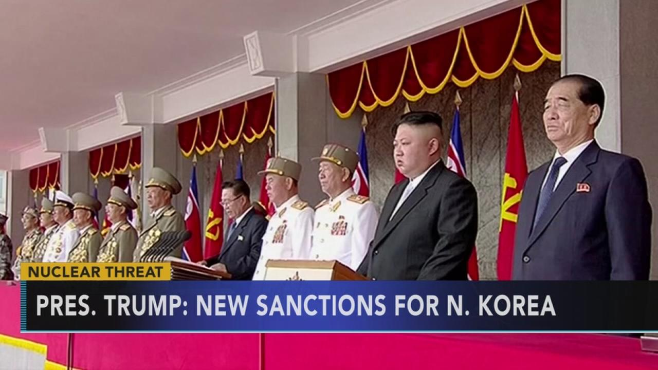 Kim Jong Un: Deranged Trump will pay dearly for threat: Rick Williams reports on Action news at 11 p.m., September 21, 2017