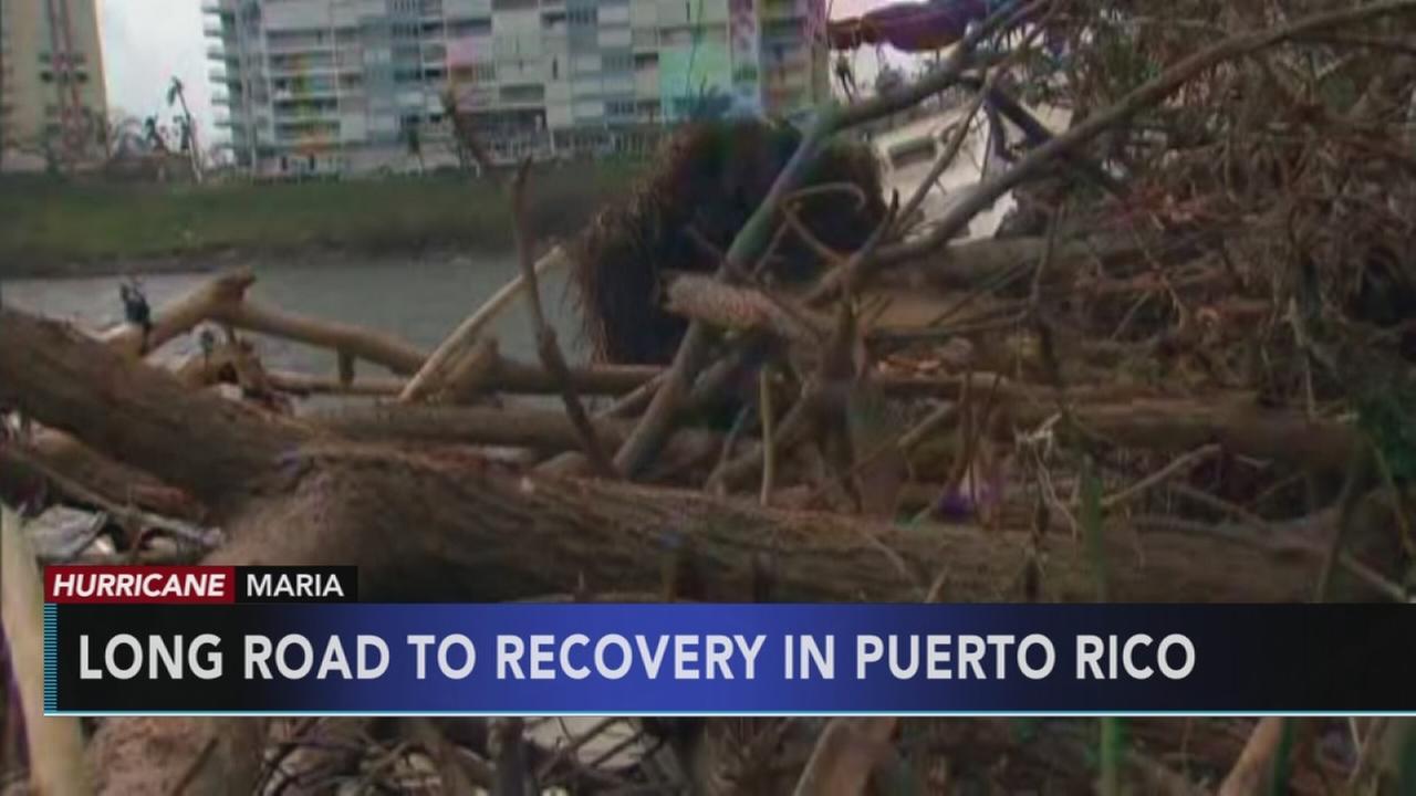 Road to recovery in Puerto Rico