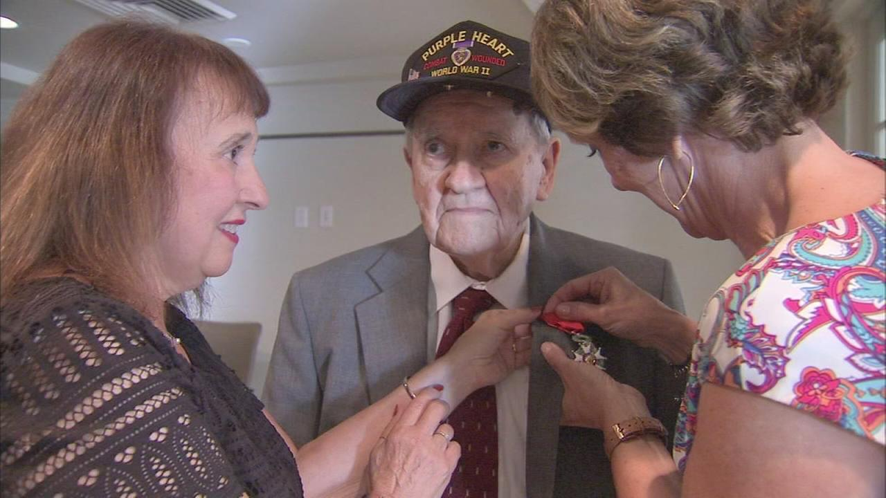 VIDEO: Local WWII veteran awarded high honor