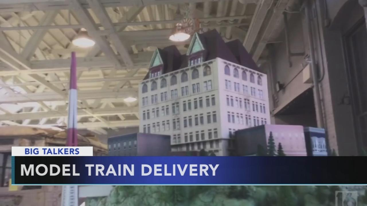 John Oliver gifts irresponsibly large train set to Scranton TV station
