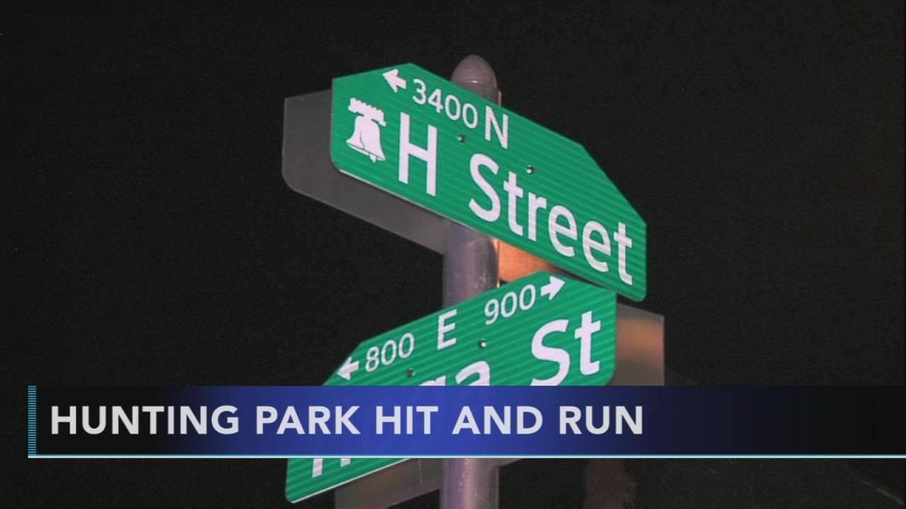 Pedestrian struck in Hunting Park hit and run
