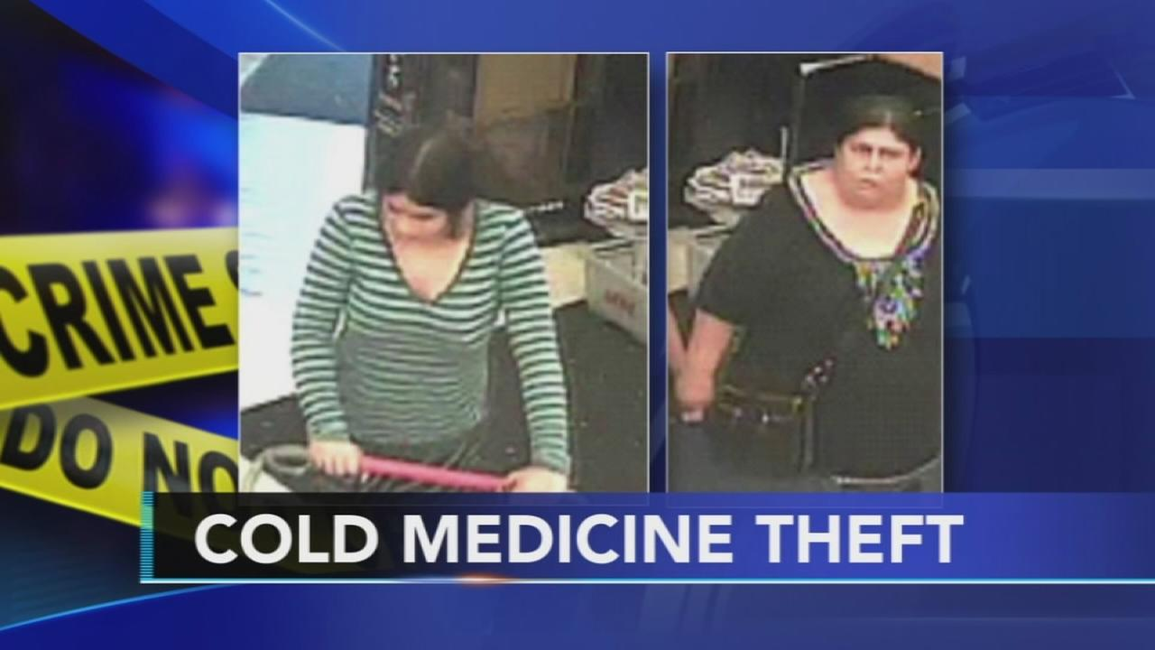 Suspects sought in over-the-counter drug theft
