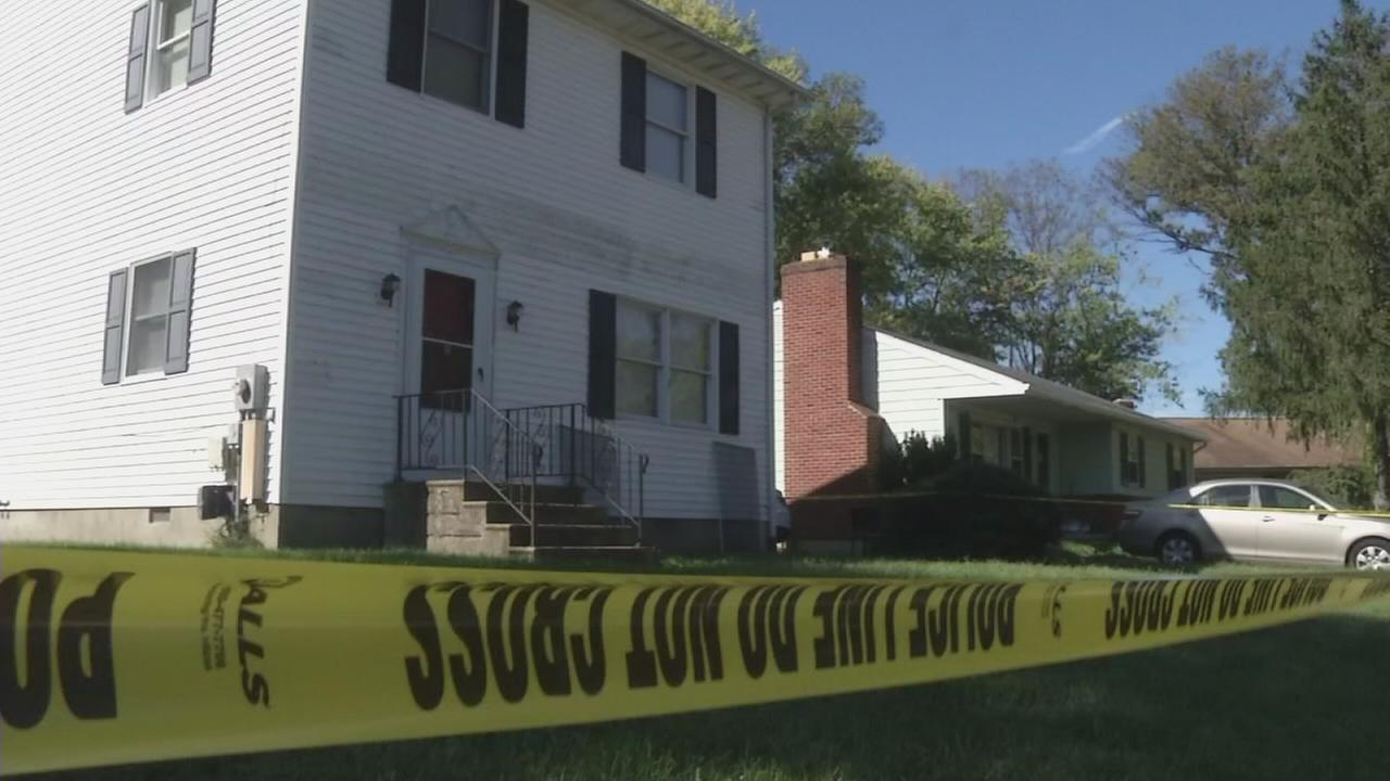 Police investigsting homicide in Newark