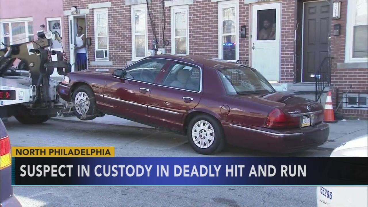 Suspect in custody after Broad Street fatal hit and run