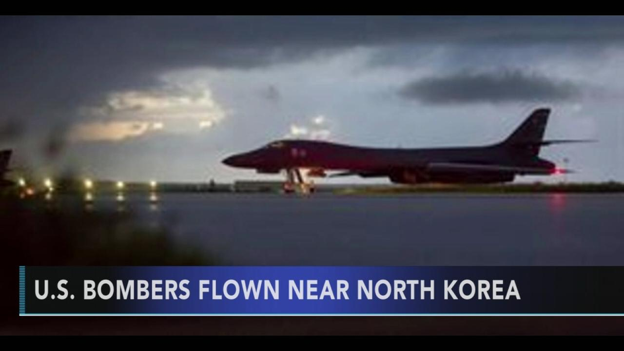 US flies mission north of DMZ, sends message to North Korea