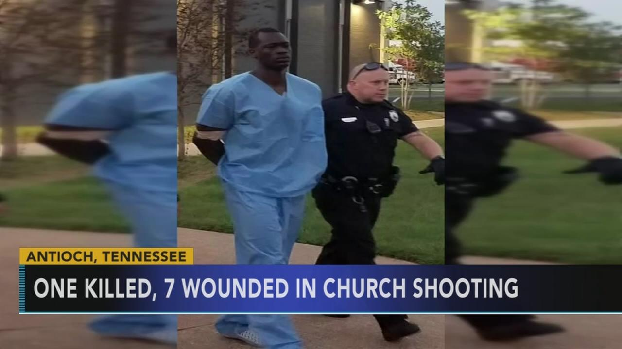 Gunman opens fire in Nashville church; 1 dead, 7 wounded: Walter Perez reports on Action News at 11 p.m., September, 24, 2017