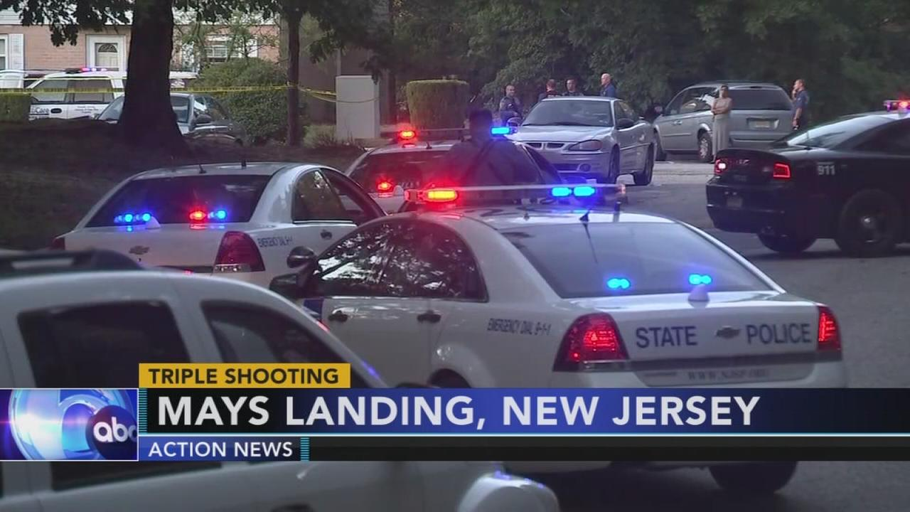 Triple shooting in Mays Landing