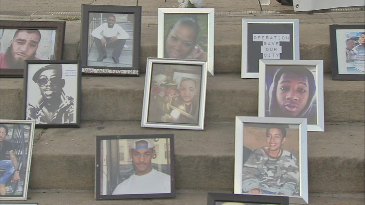 People affected by homicide gather to remember loved ones at the art museum Monday: Annie McCormick reports on Action News at 11 p.m., September 25, 2017.