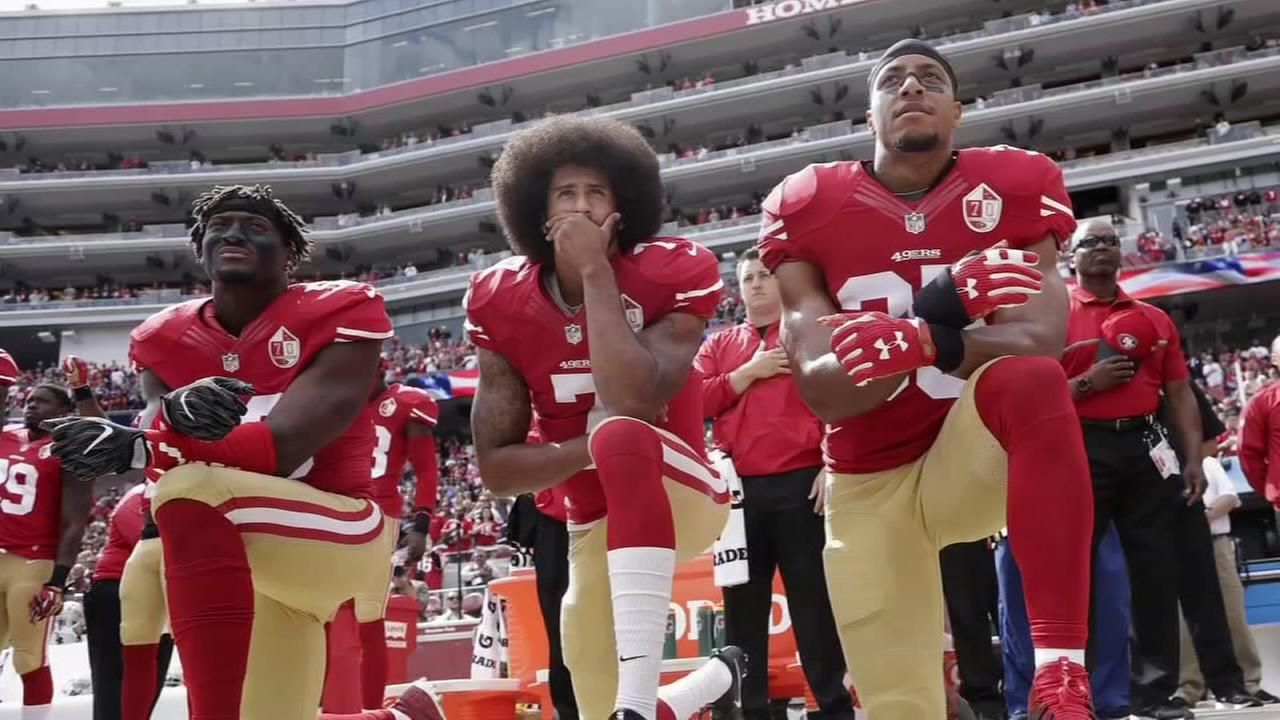 Protests continue over President Trumps NFL comments