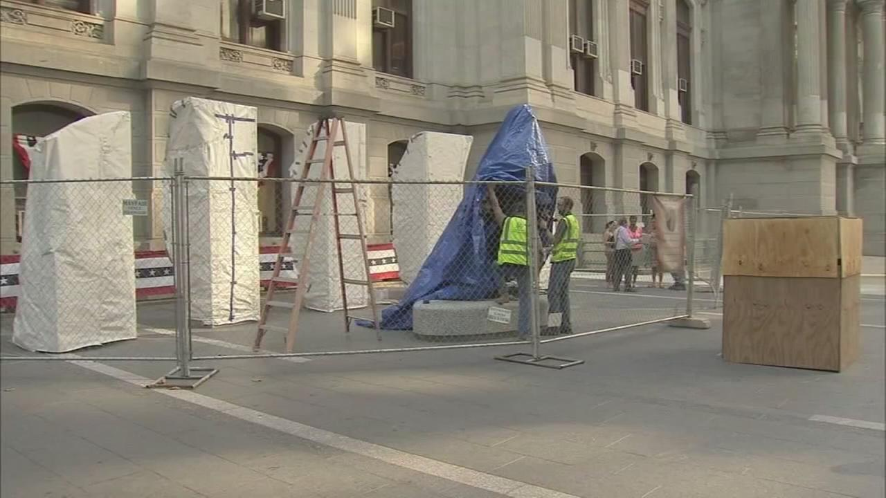 Statue to be unveiled near City Hall