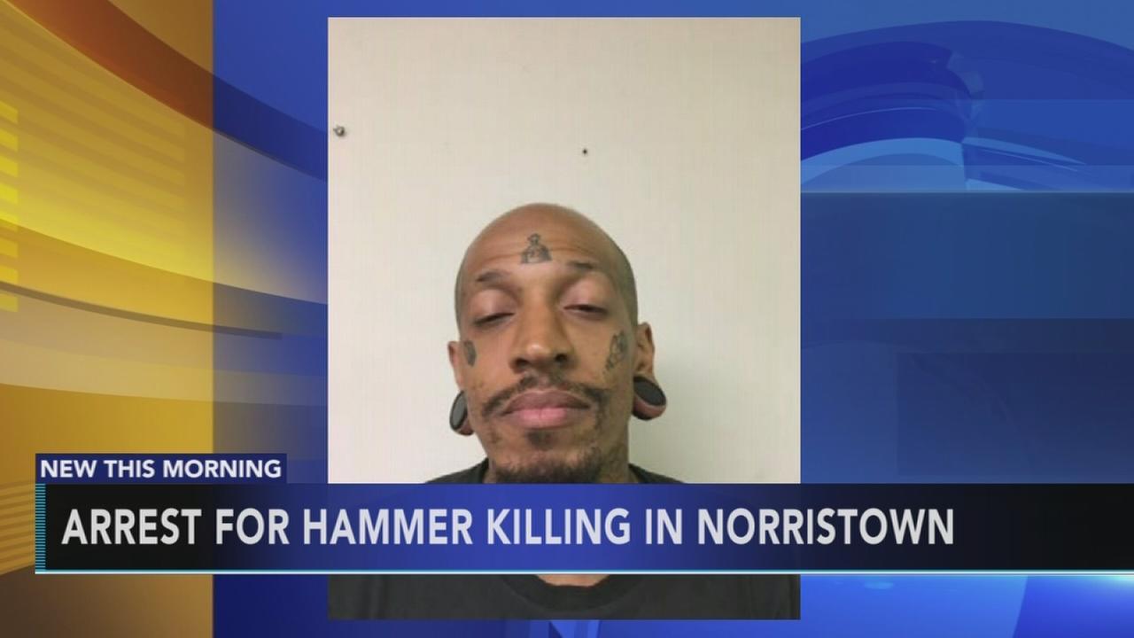 Arrest for hammer killing in Norristown