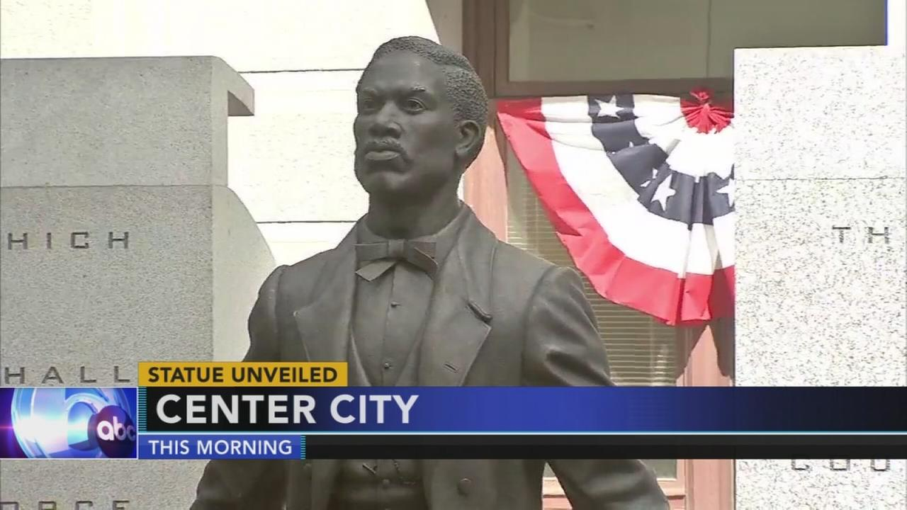 Philly unveils first statue dedicated to African-American