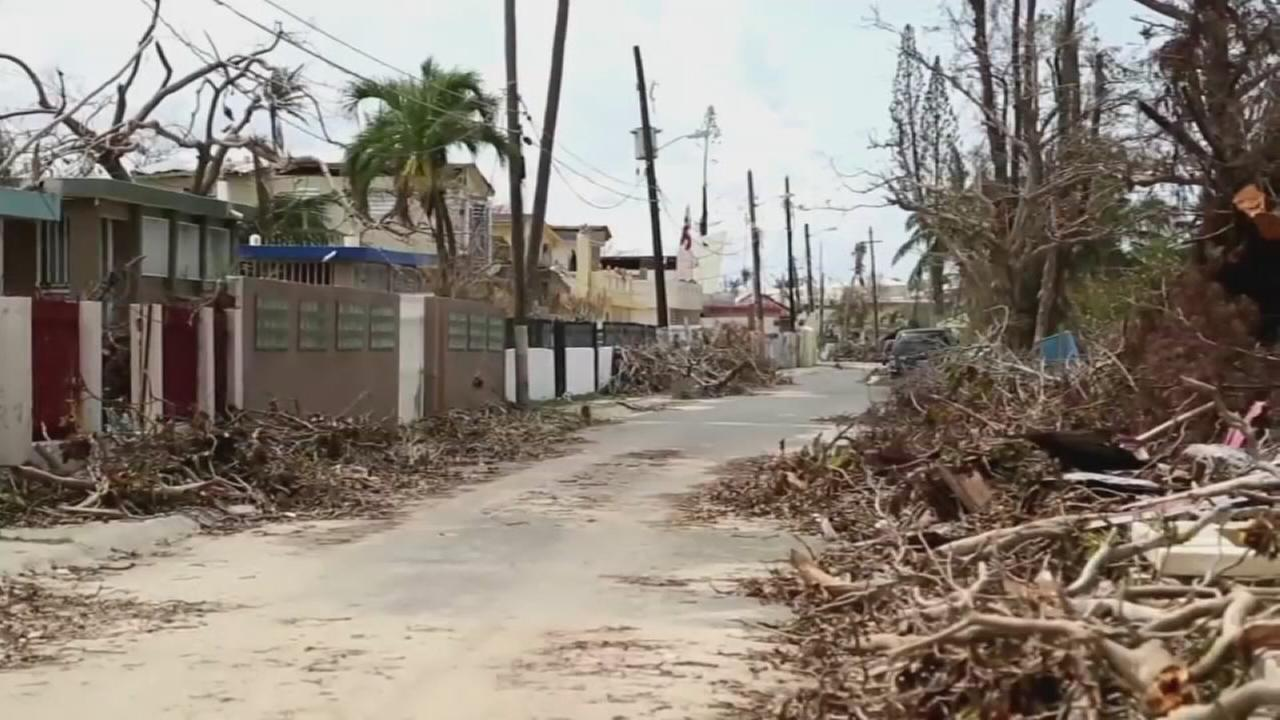 Puerto Rico emerges from storm: Danya Bacchus reports on Action News at 5 p.m, September 26, 2017