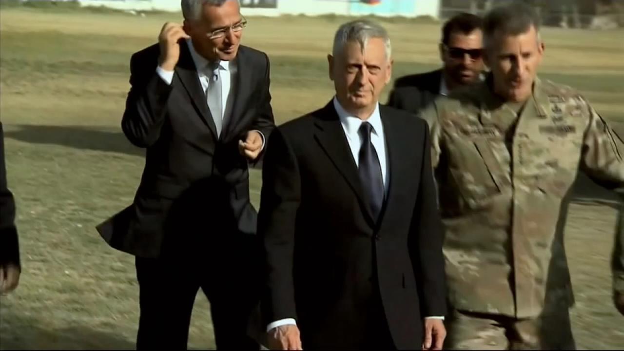 Taliban target Mattis plane