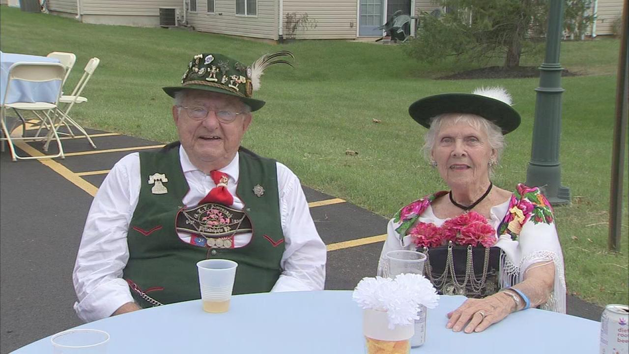 Seniors enjoy Oktoberfest