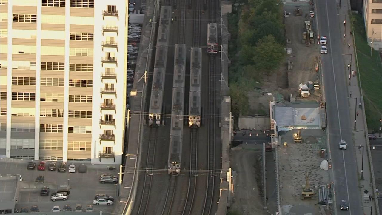 Stuck train caused delays for commuters at 30th Street Station