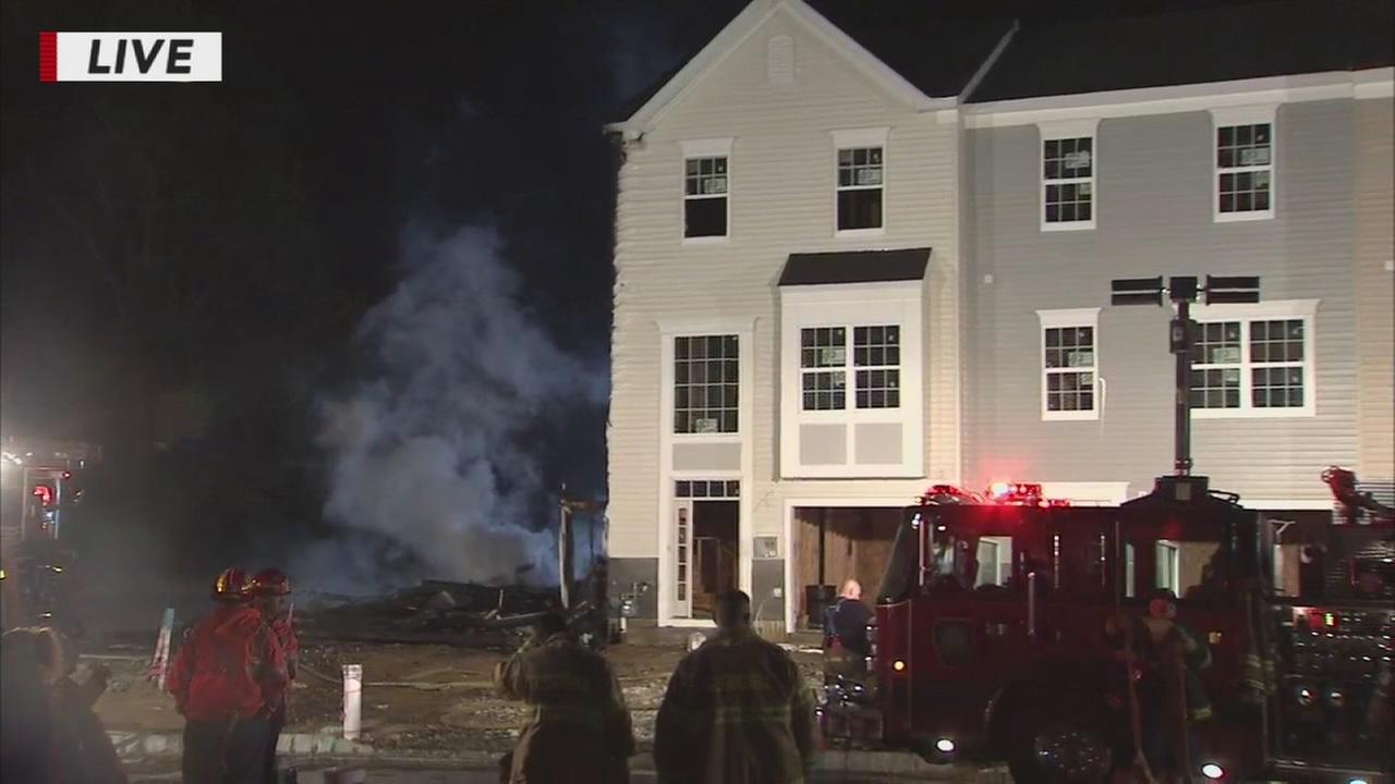 Fire in Sicklerville, NJ