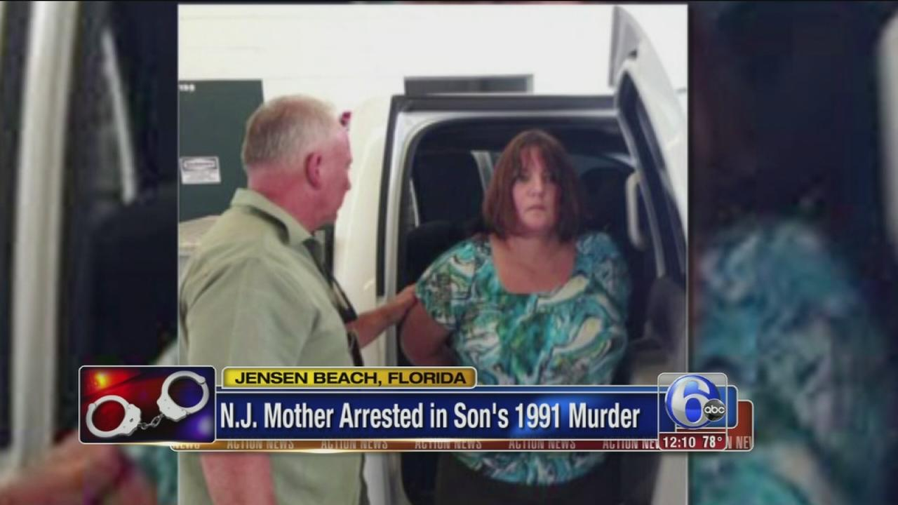 VIDEO: NJ mom charged in sons 1991 murder