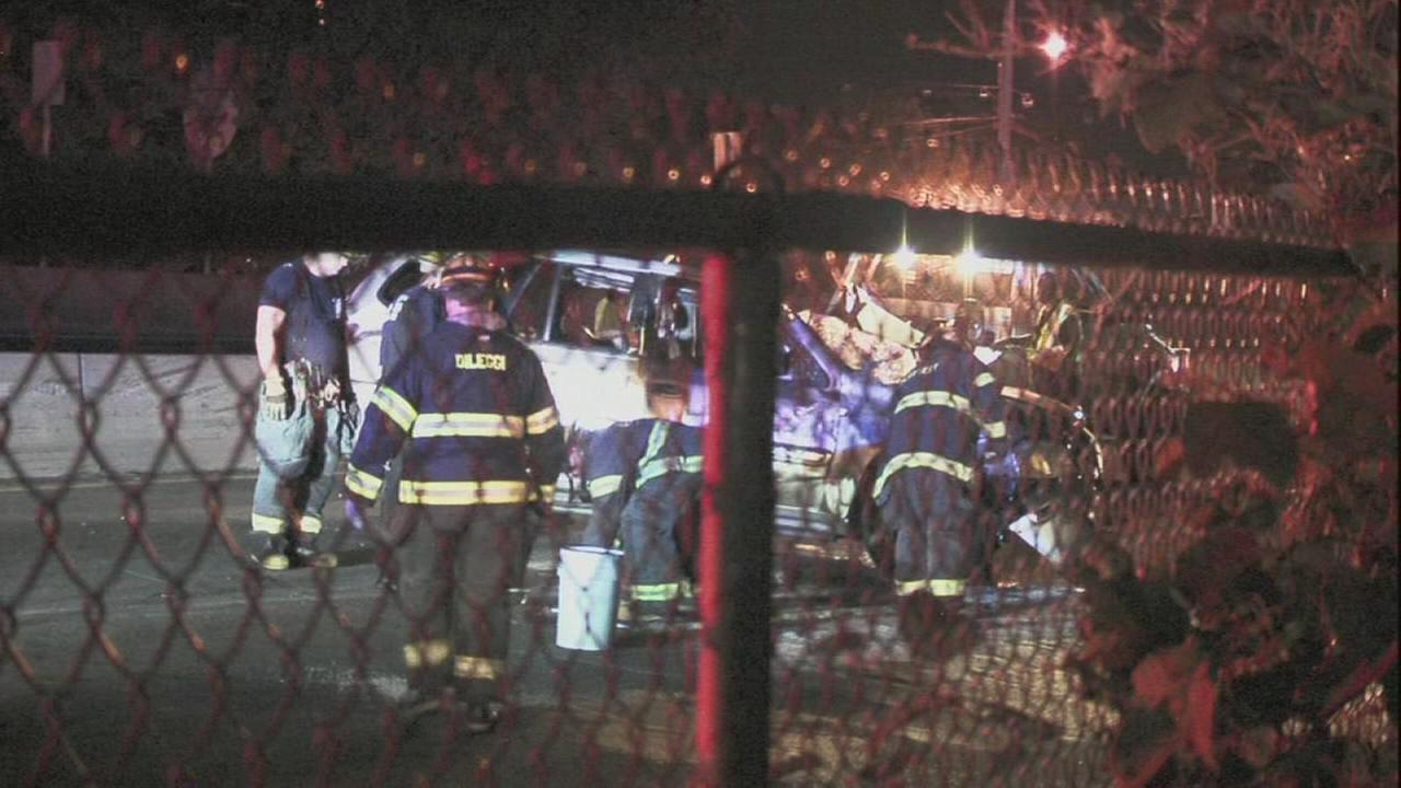 Man dead after crash on Schuylkill Expressway