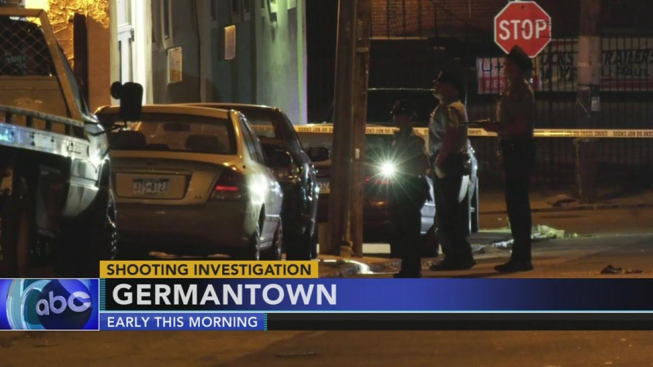 Man critical after being shot multiple times in Germantown