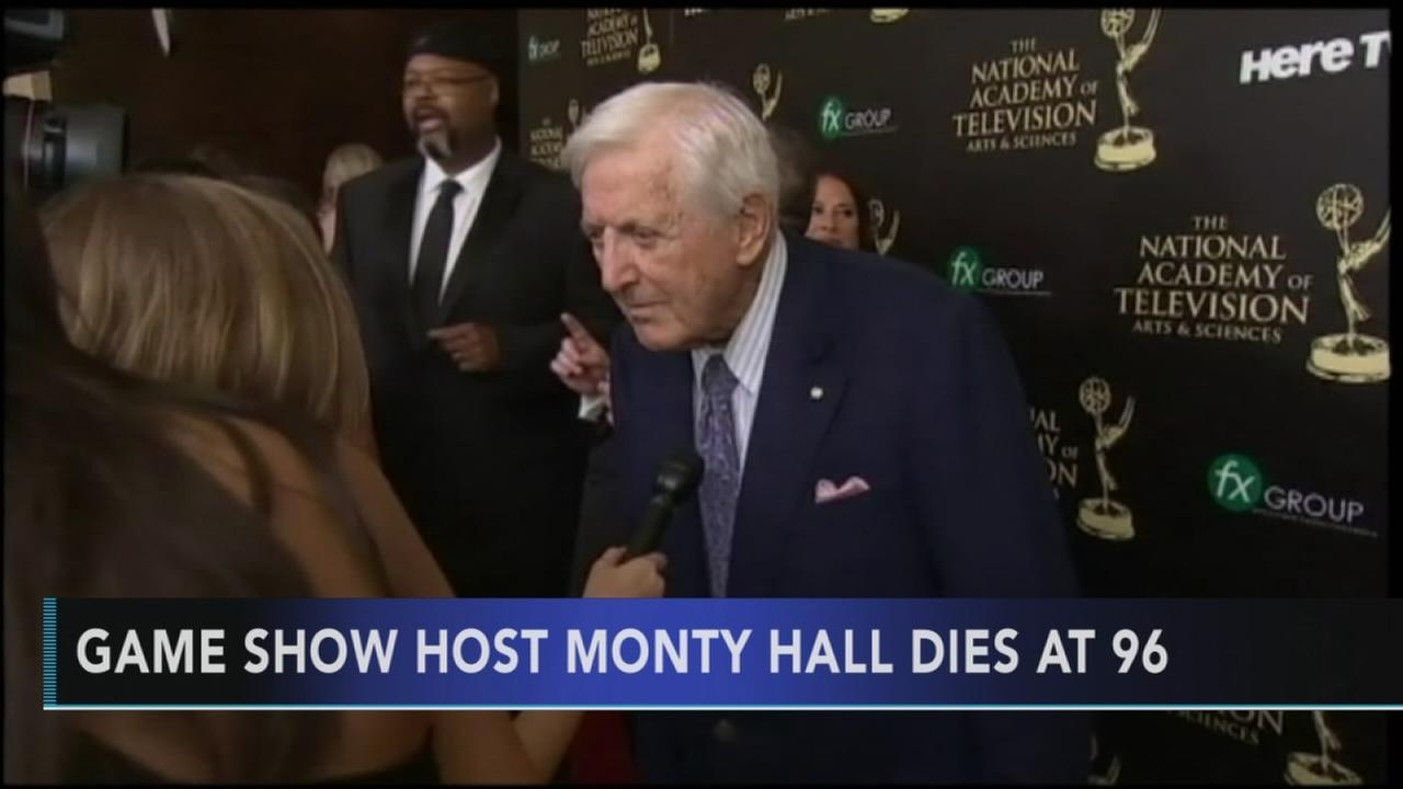 monty hall dies at 96: Walter Perez reports on Action News at 11 p.m., September 30, 2017