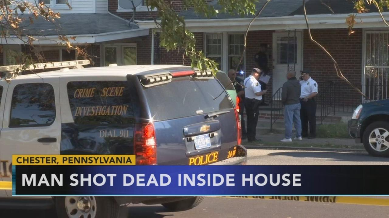 Man shot to death inside Chester home