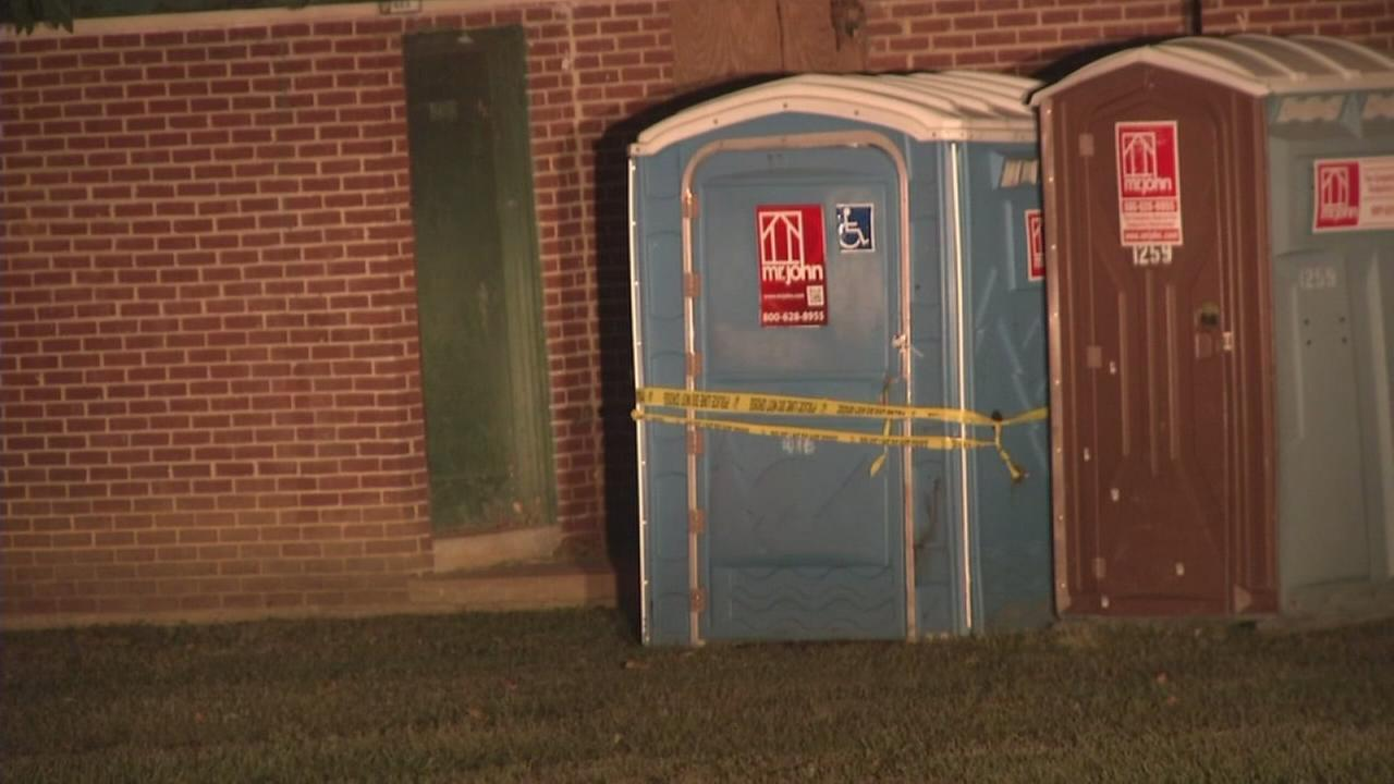 Bloodied body found in porta-potty in Wilmington: Sarah Bloomquist reports on Action News at 11 p.m., October 11, 2017