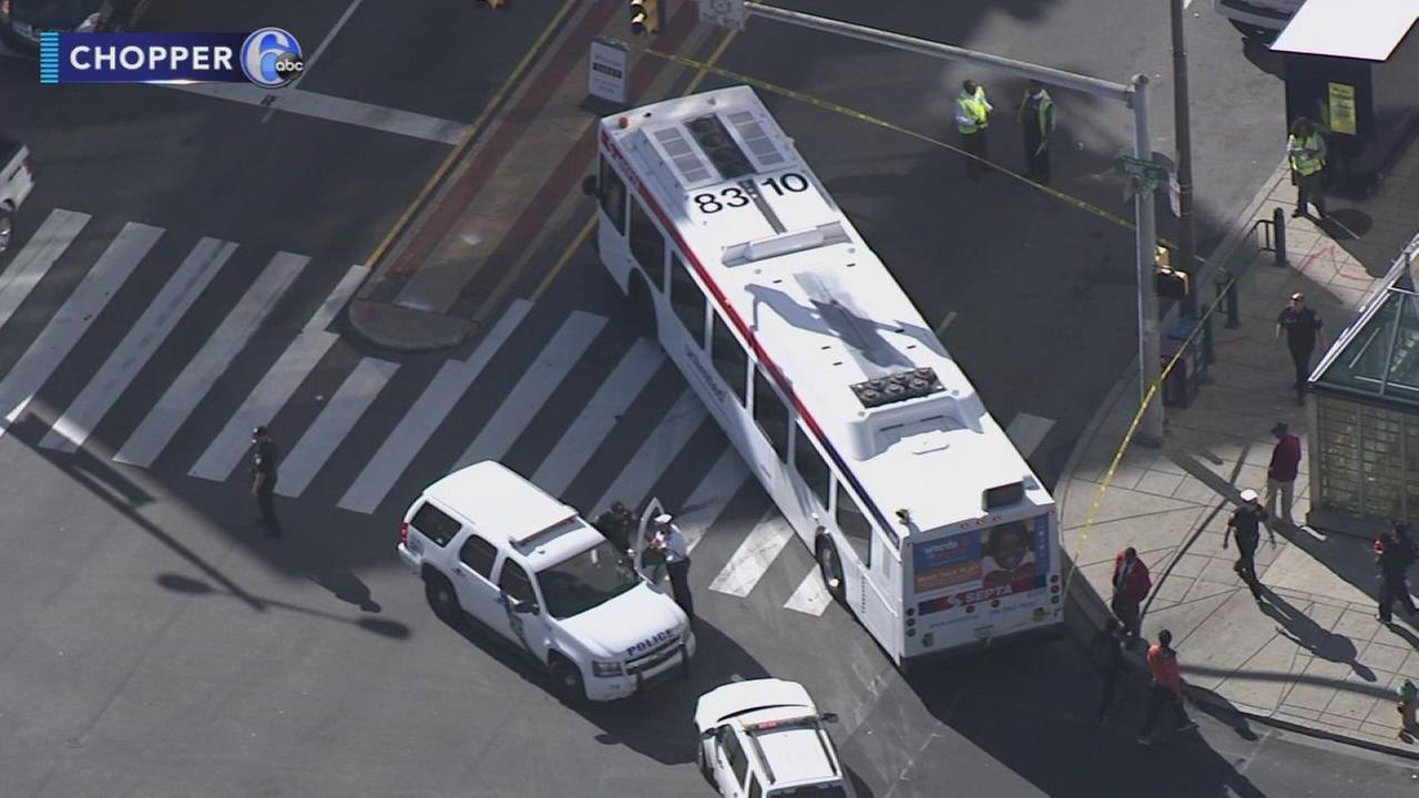 Pedestrian struck in Center City