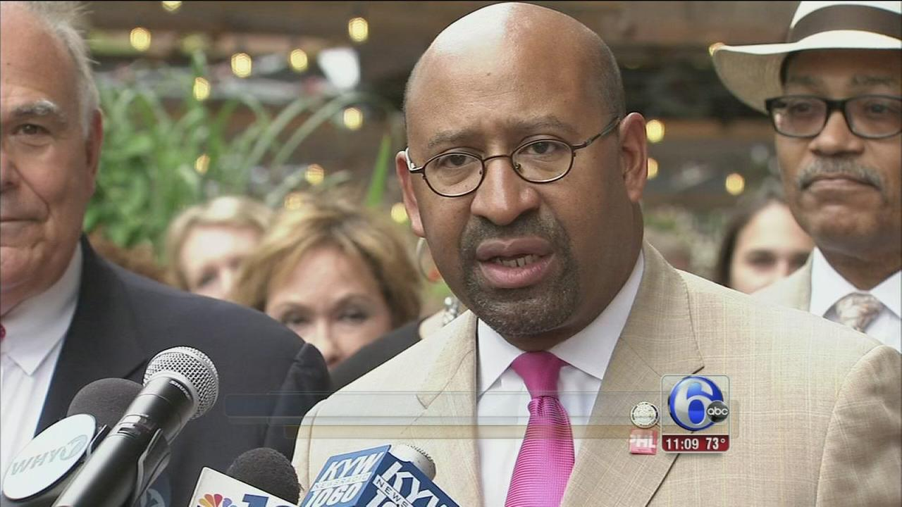 VIDEO: Rally pushes for Phila. as potential host of DNC 2016