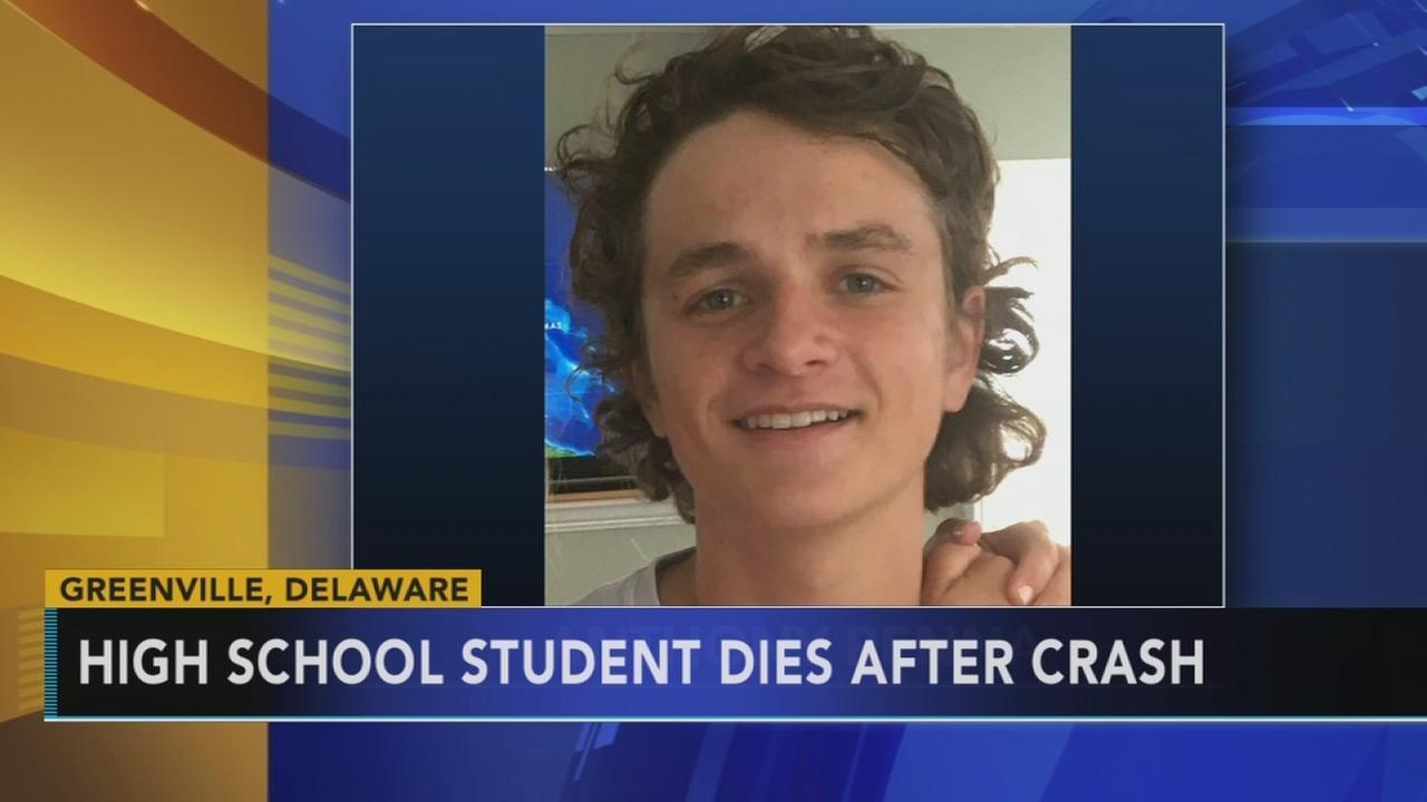 High school student dies following crash