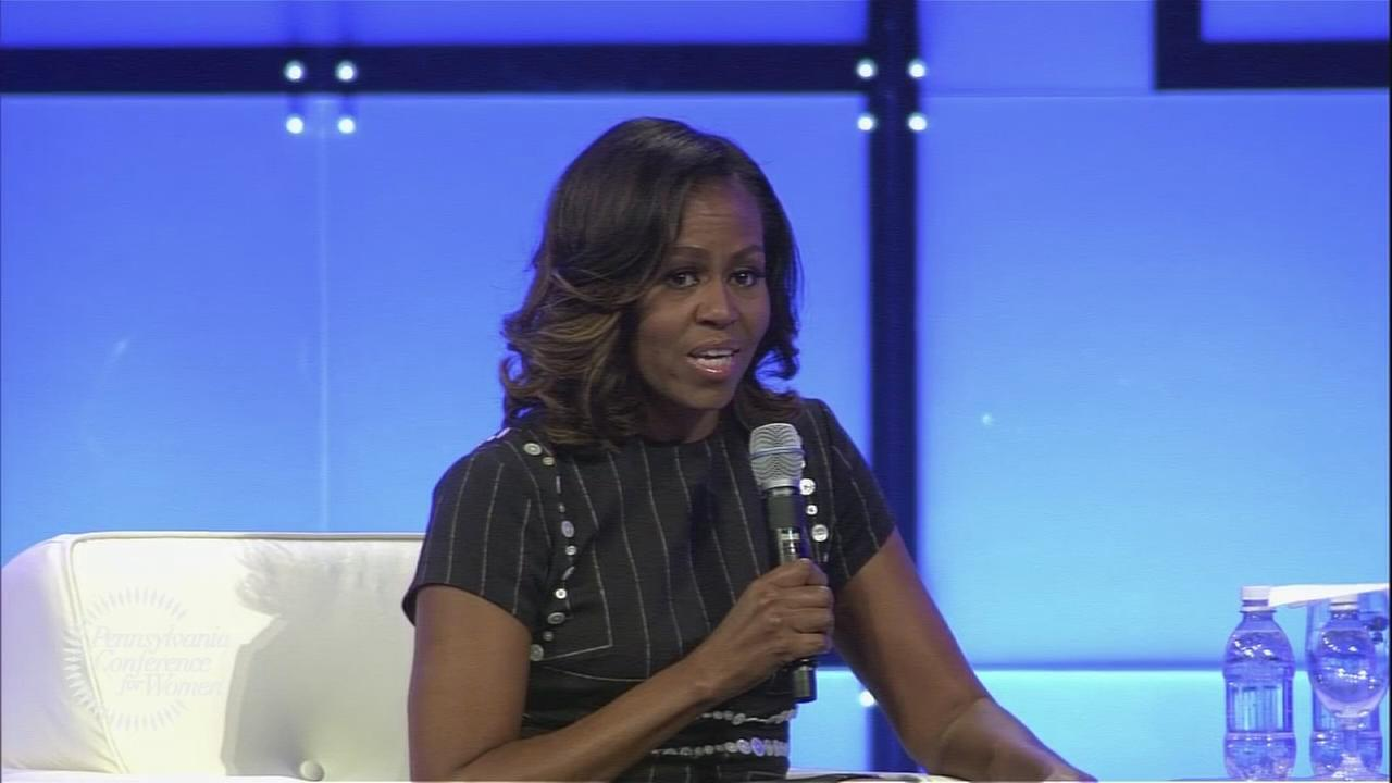 Michelle Obama headlines Pa. Conference for Women
