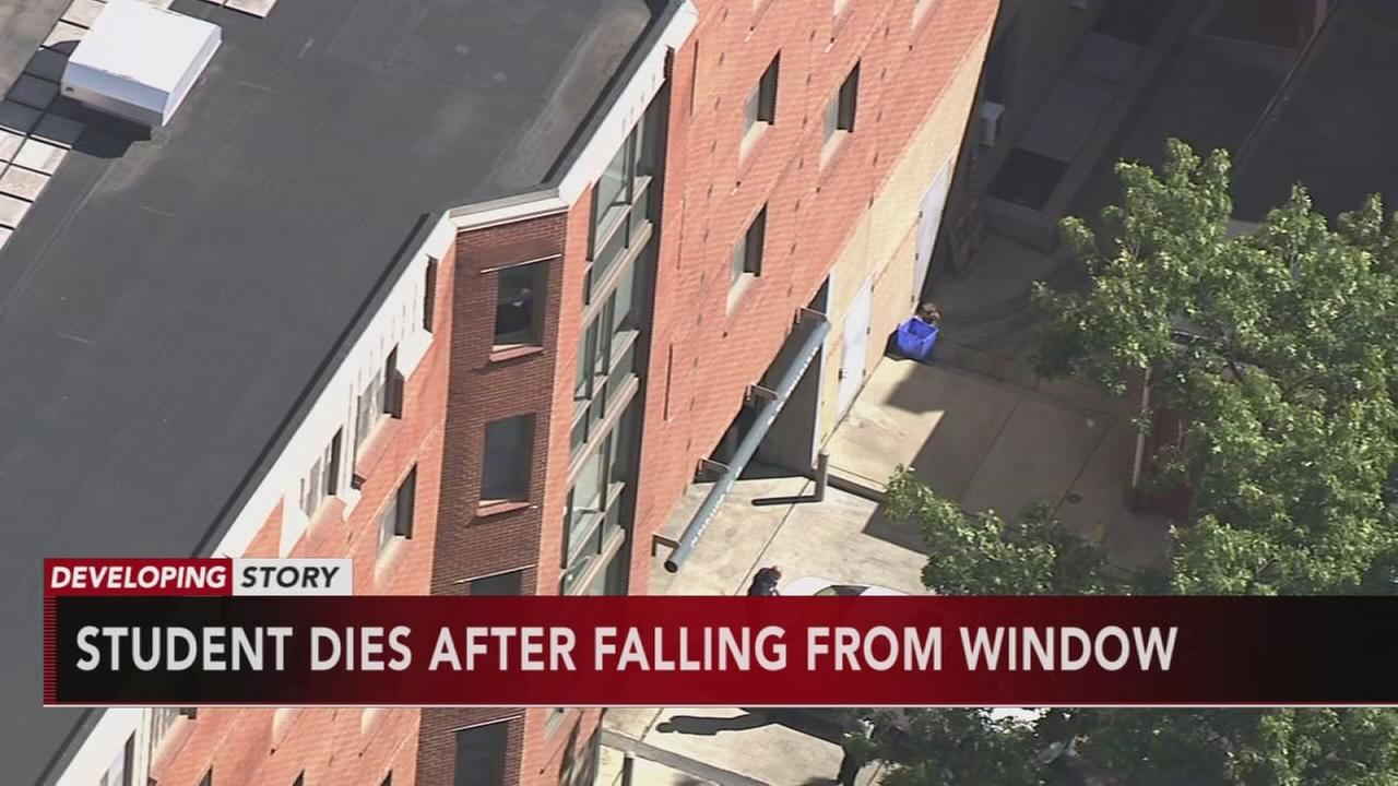 VIDEO: Student falls from building on Temple campus