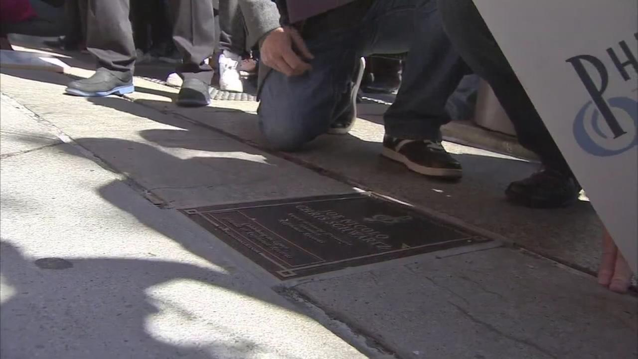 PMA holds Walk of Fame celebration: John Rawlins reports on Action News at 5 p.m., October 4, 2017