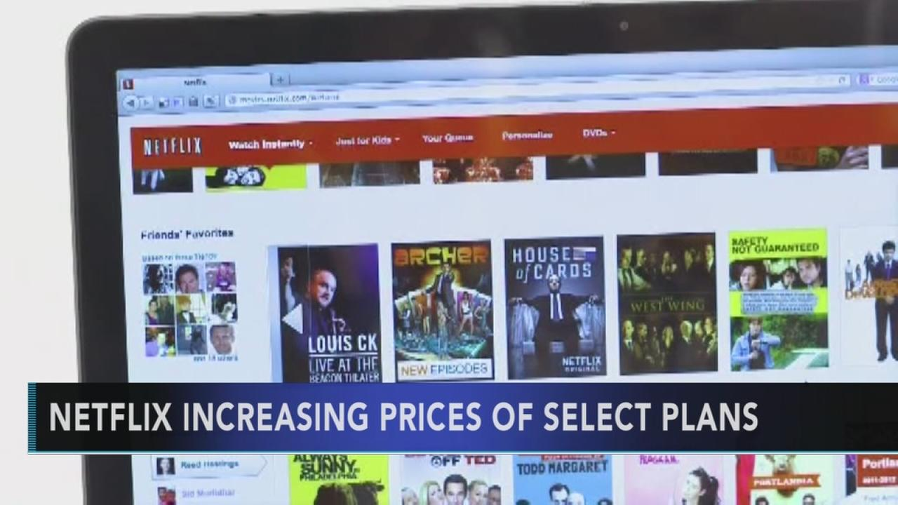 Netflix raising prices for most popular streaming plan