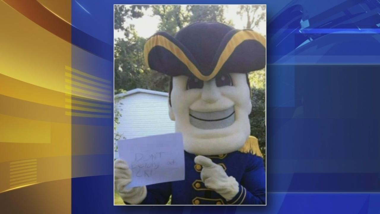 Del. school mascot sports racial slur in picture