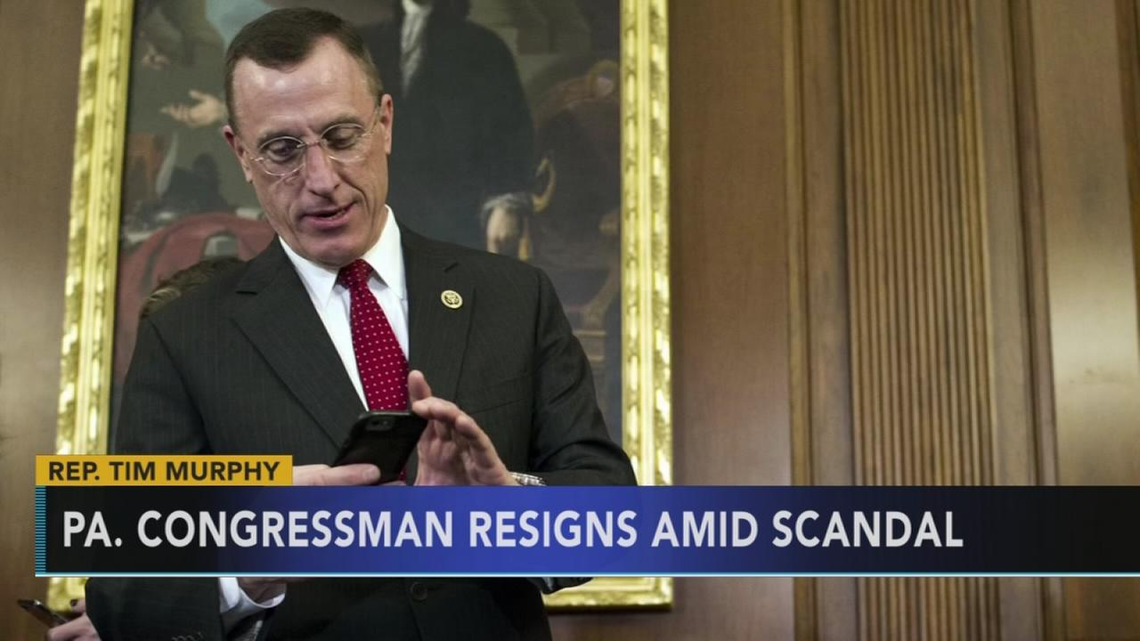 PA Congressman resigns amid scandal: Monica Malpass reports on Action News at 11 p.m., October 5, 2017