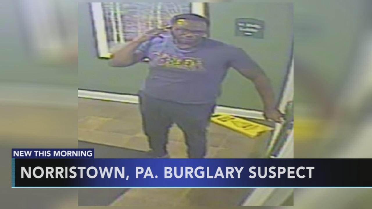 Search for Norristown burglary suspect