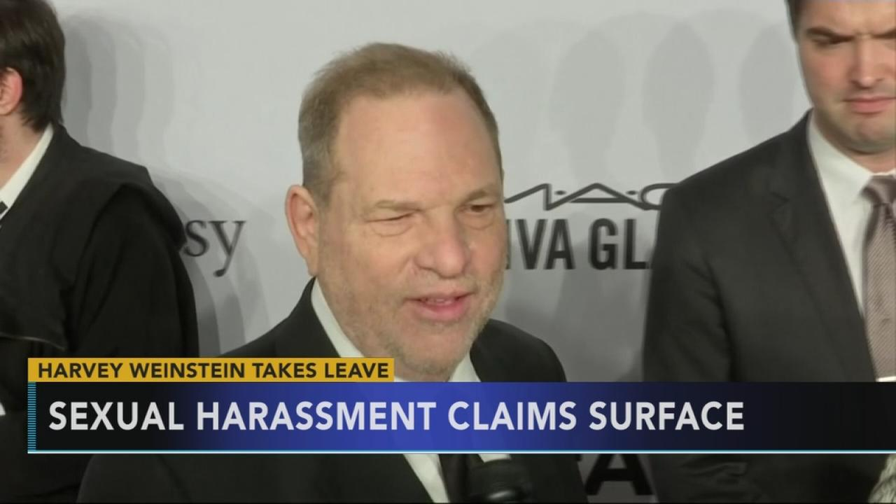 Harvey Weinstein to take leave amid sexual harassment report
