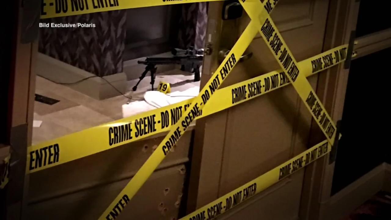 Las Vegas gunmans vast arsenal included tracer bullets