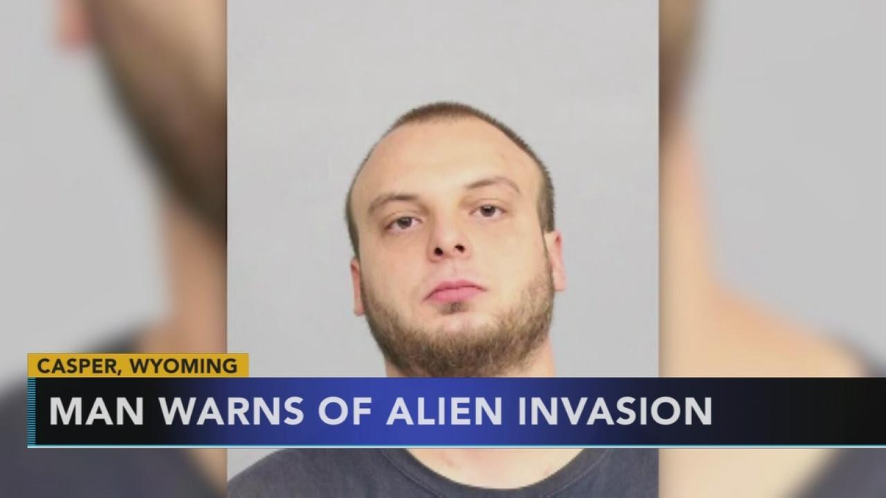 Man warns of alien invasion during DUI arrest