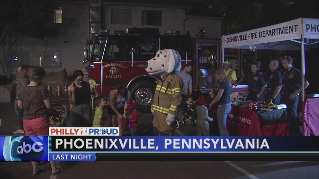 Phoenixville Fire Department kicks off Fire Prevention Week